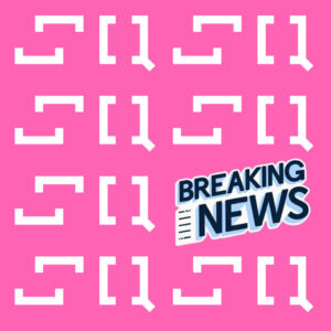 SQ logo with breaking news icon