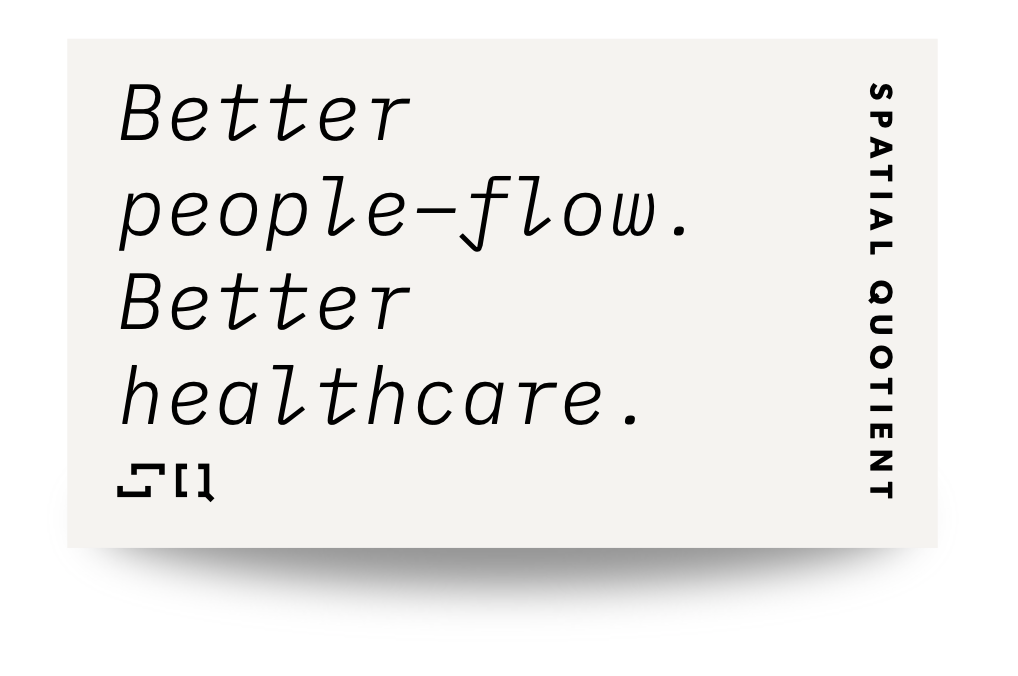 Better people-flow. Better healthcare.